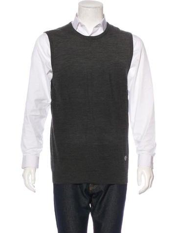 Pierre Balmain Wool Sweater Vest None