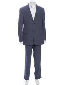 Pierre Balmain Wool Houndstooth Print Two-Piece Suit