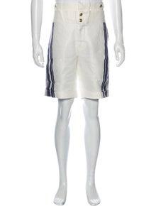 Pierre Balmain Linen Athletic Shorts w/ Tags