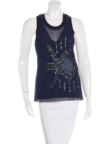 Sachin + Babi Sleeveless Knit Top w/ Tags None