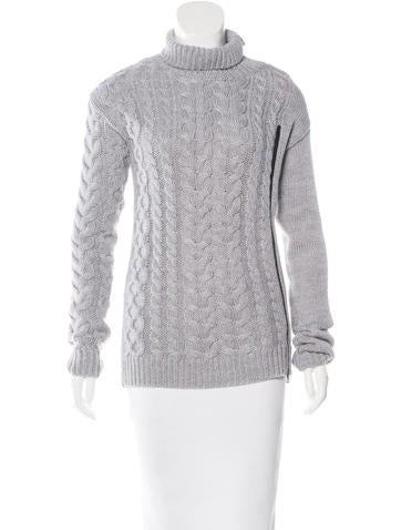 Sachin + Babi Wool Cable Knit Sweater w/ Tags None