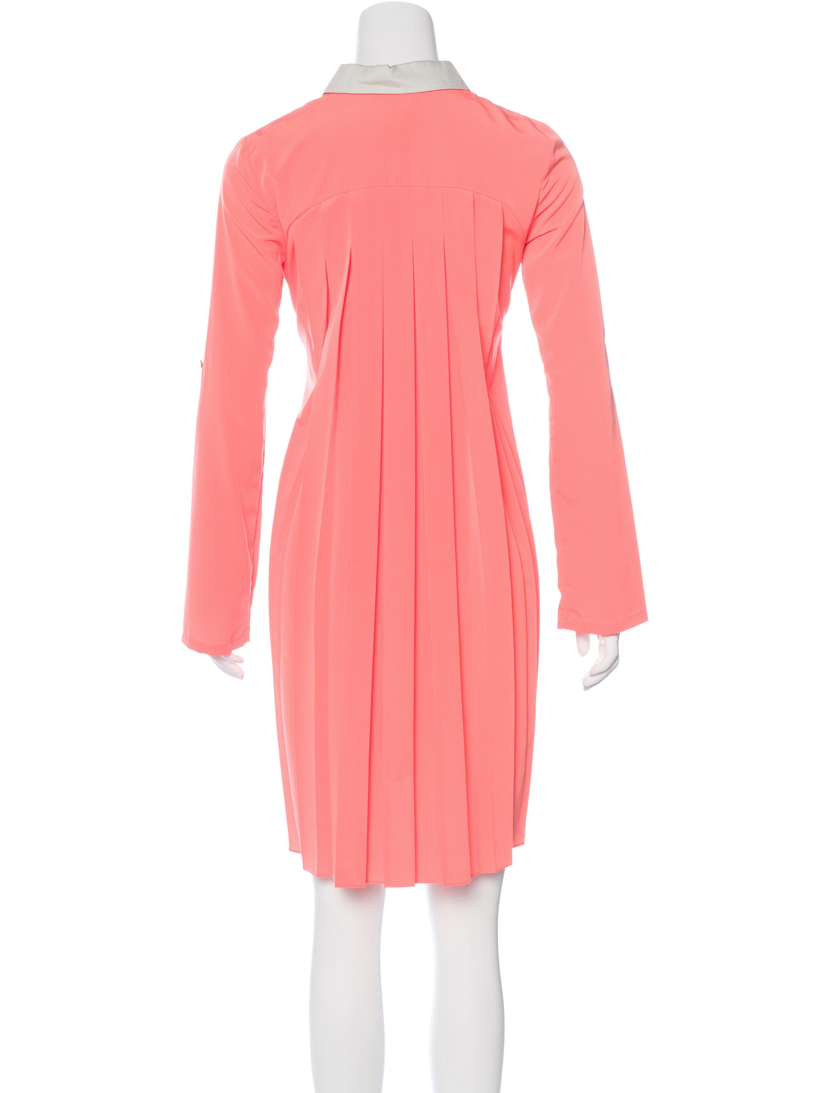 sachin babi belted shirt dress clothing w1s21729