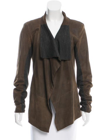 Sachin + Babi Leather Asymmetrical Jacket None