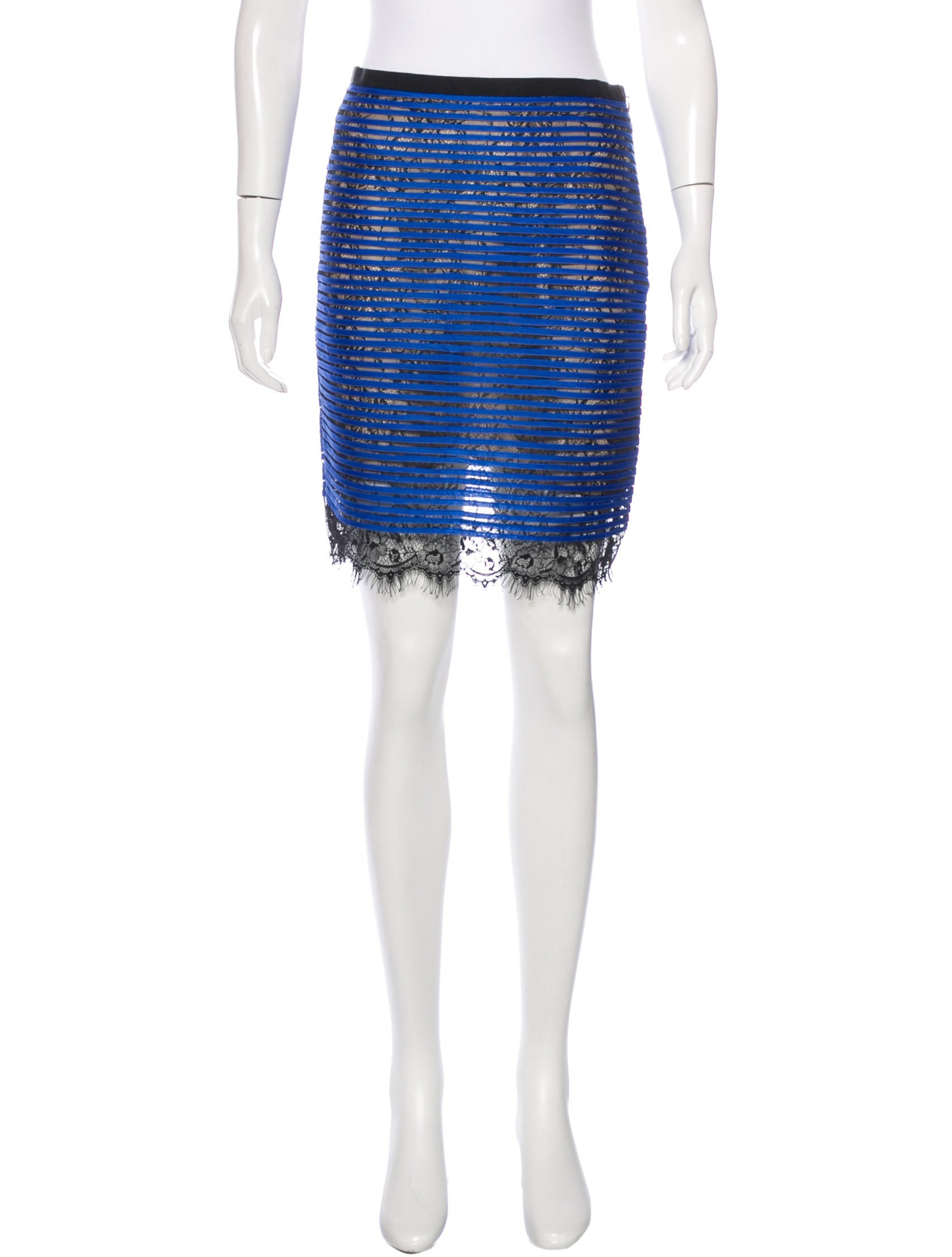 sachin babi pleated pencil skirt clothing w1s21945