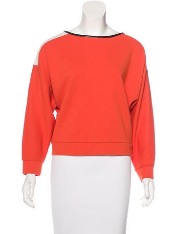 Sachin + Babi Colorblock Long Sleeve Top None