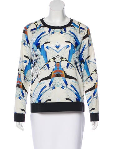 Sachin + Babi Printed Long Sleeve Top None