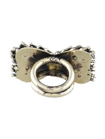 Seaweed Bow Ring