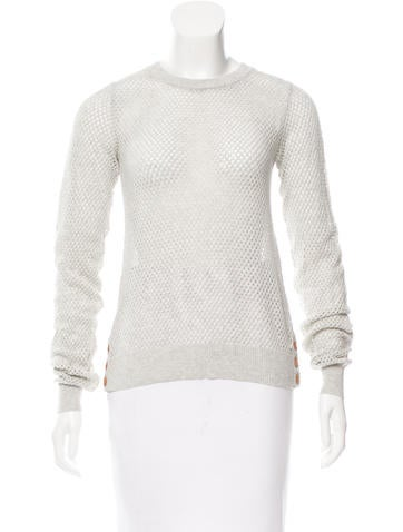 Banjo & Matilda Mesh Knit Top None