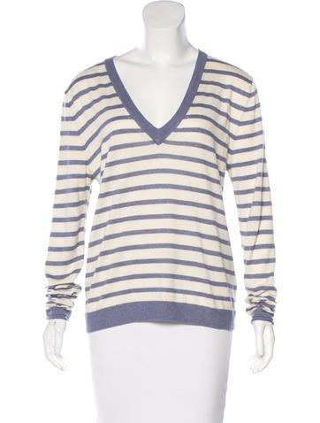 Banjo & Matilda Silk-Blend Striped Sweater None