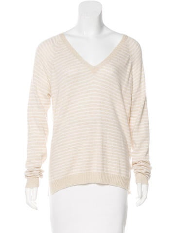 Banjo & Matilda Cashmere Striped Sweater None