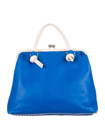 Fringe-Accented Handle Bag
