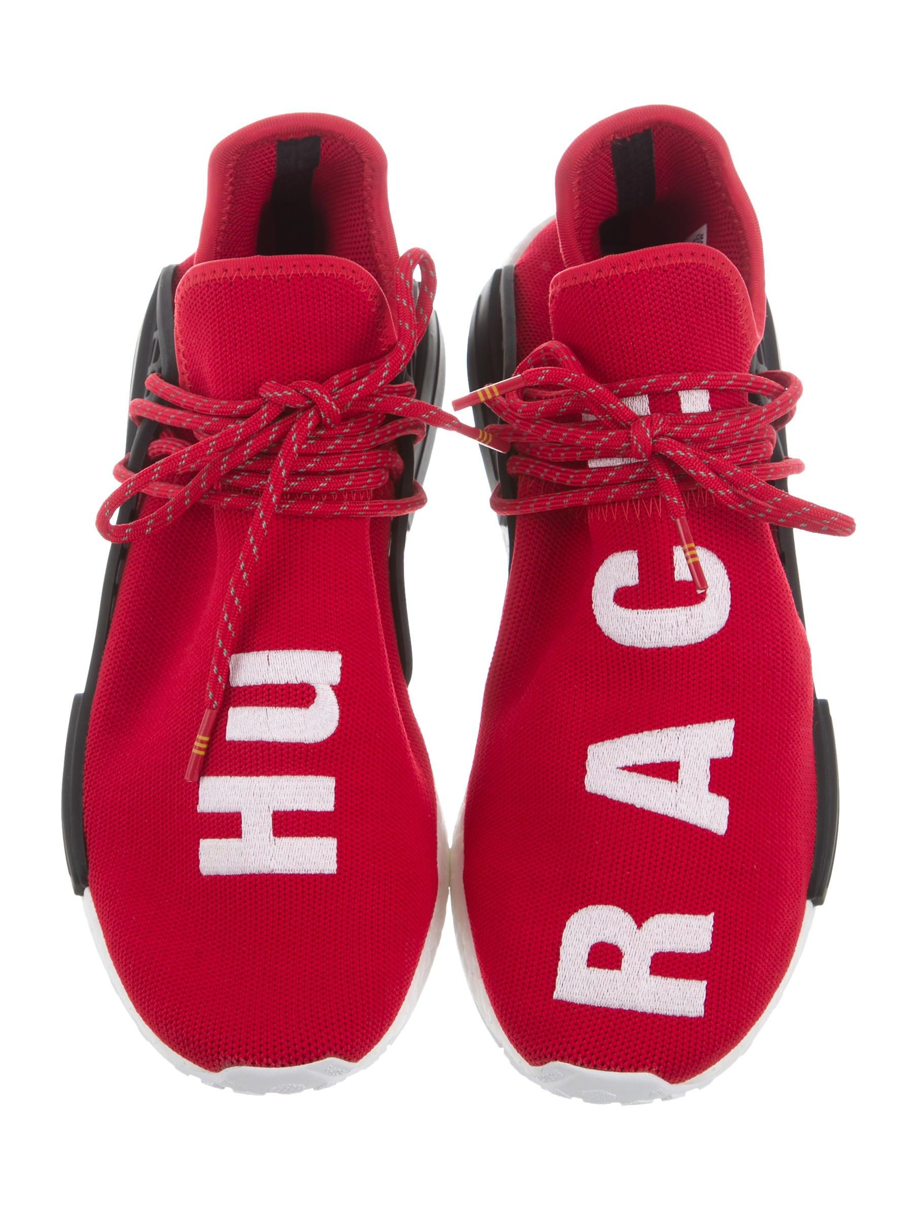 pharrell williams x adidas nmd hu razza umana scarpe, scarpe