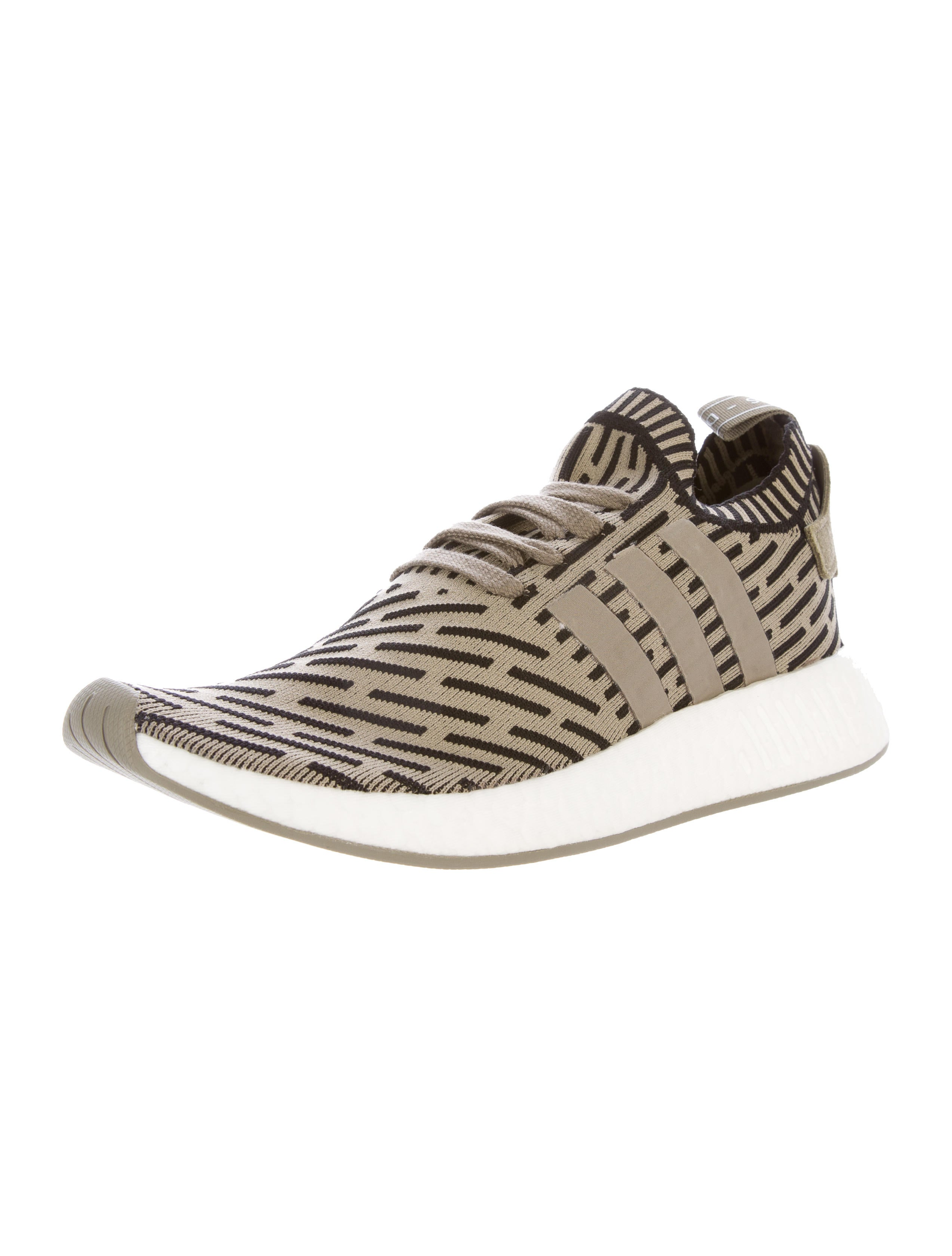 adidas nmd r2 pk sneakers w tags shoes w2ads20271 the realreal. Black Bedroom Furniture Sets. Home Design Ideas