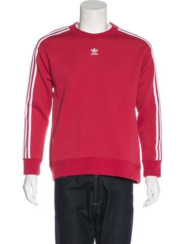 Adidas Striped Logo Sweatshirt None