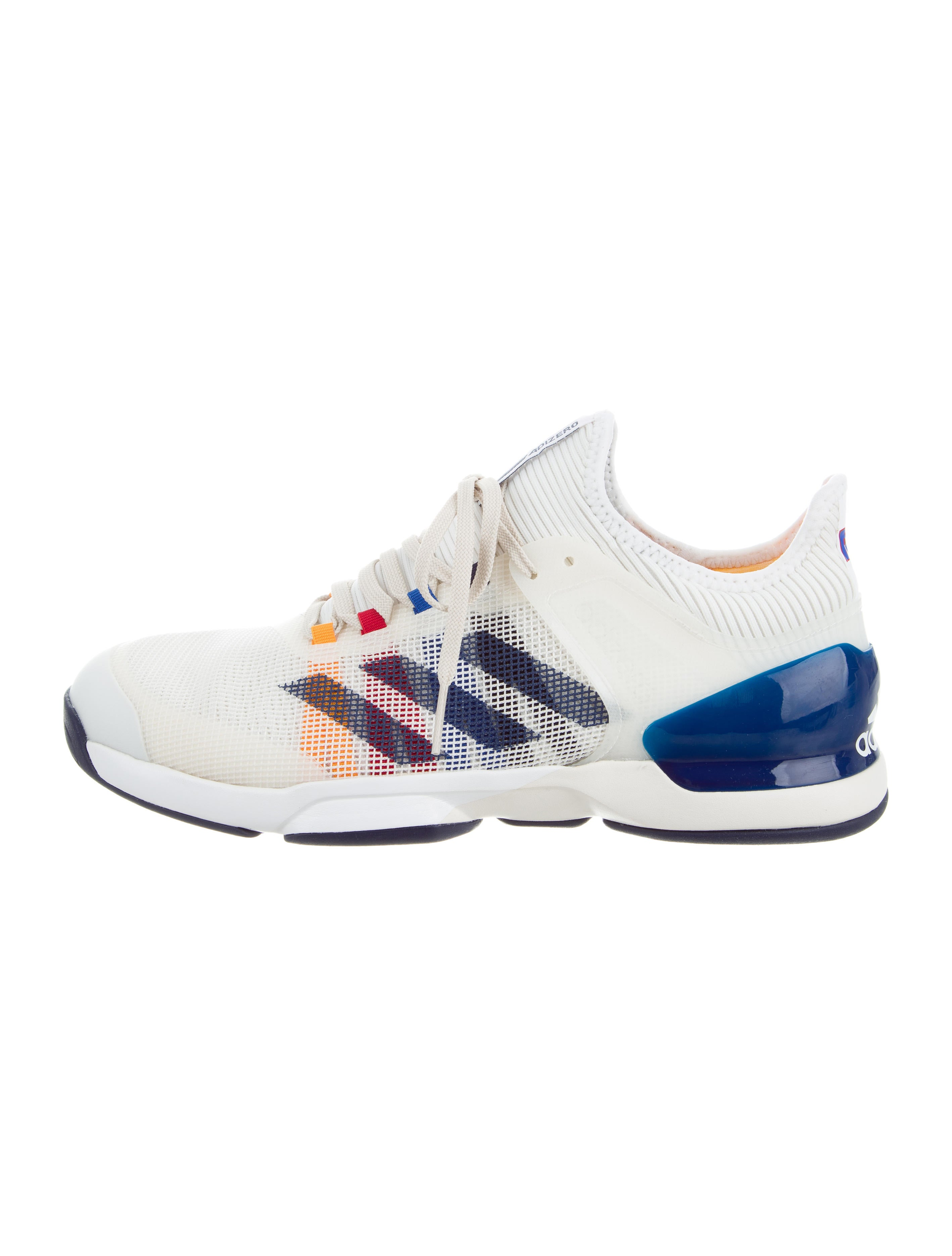 adidas men's adizero ubersonic 2 sneakers multicolour size 7 uk