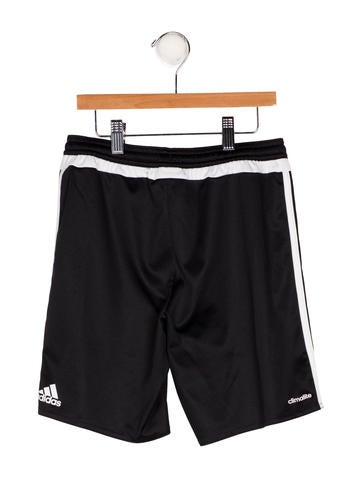 Adidas Boys' Striped Athletic Shorts None
