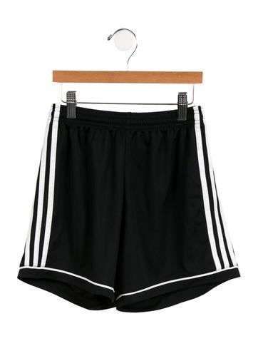Adidas Girls' Athletic Logo Shorts None