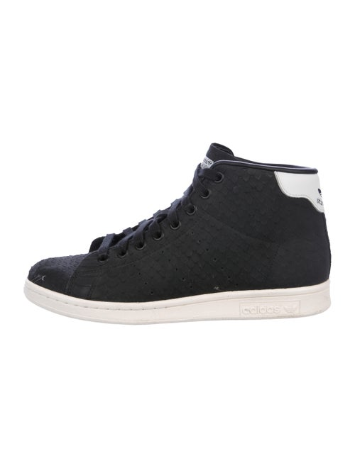 Adidas Stan Smith High-Top Sneakers Black