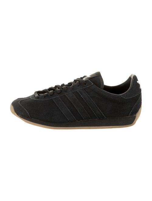 Adidas Suede Low-Top Sneakers Black