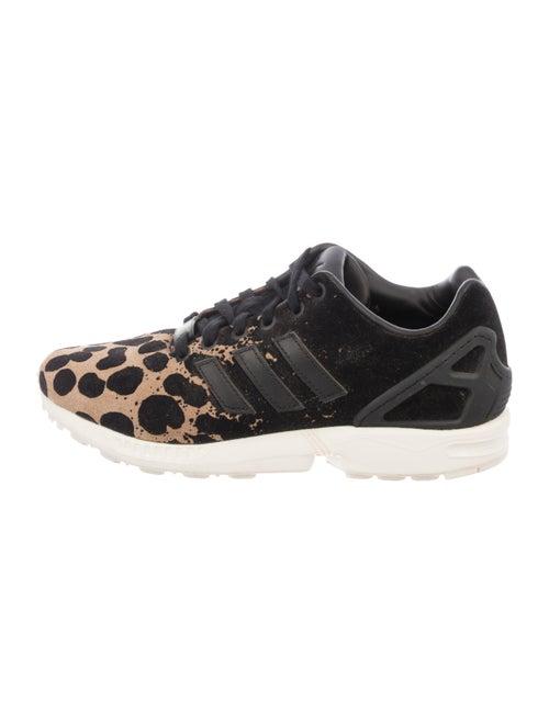 Adidas Suede Animal Print Sneakers Black