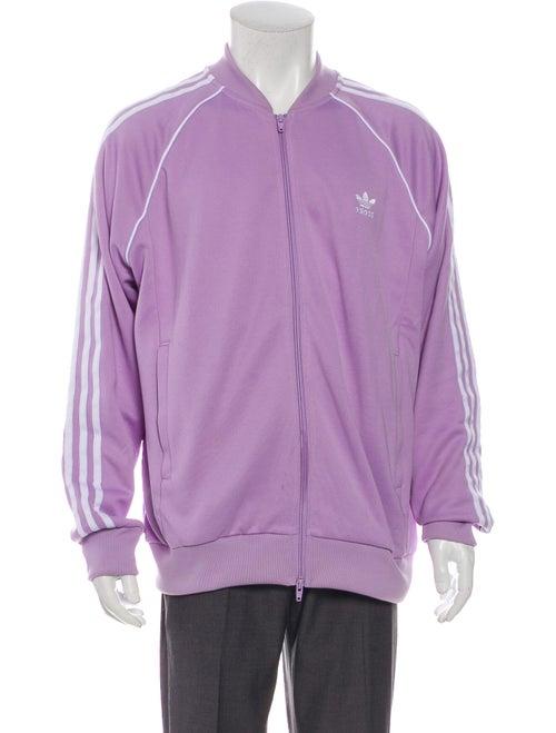 Adidas Windbreaker Purple