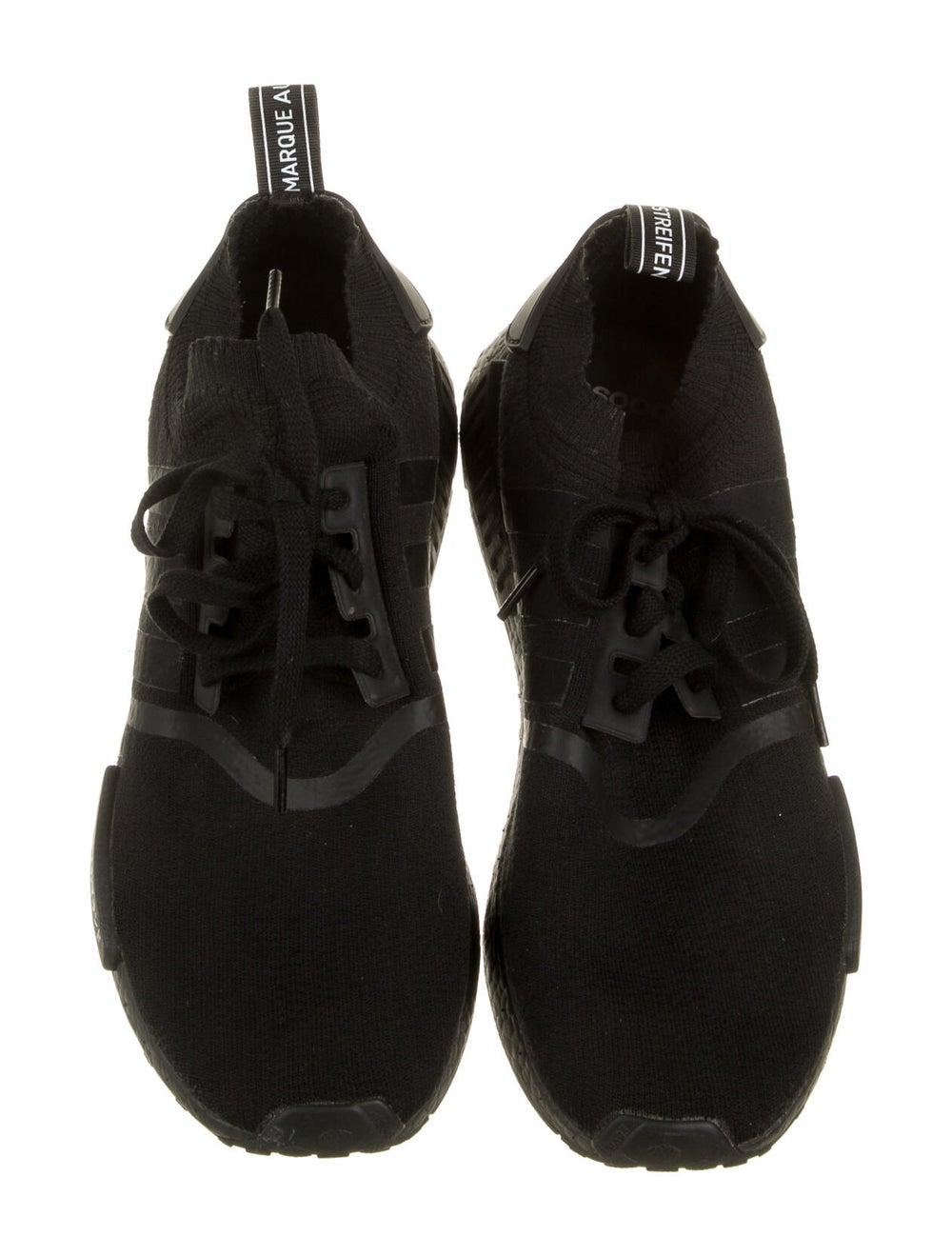 Adidas Athletic Sneakers Black - image 3