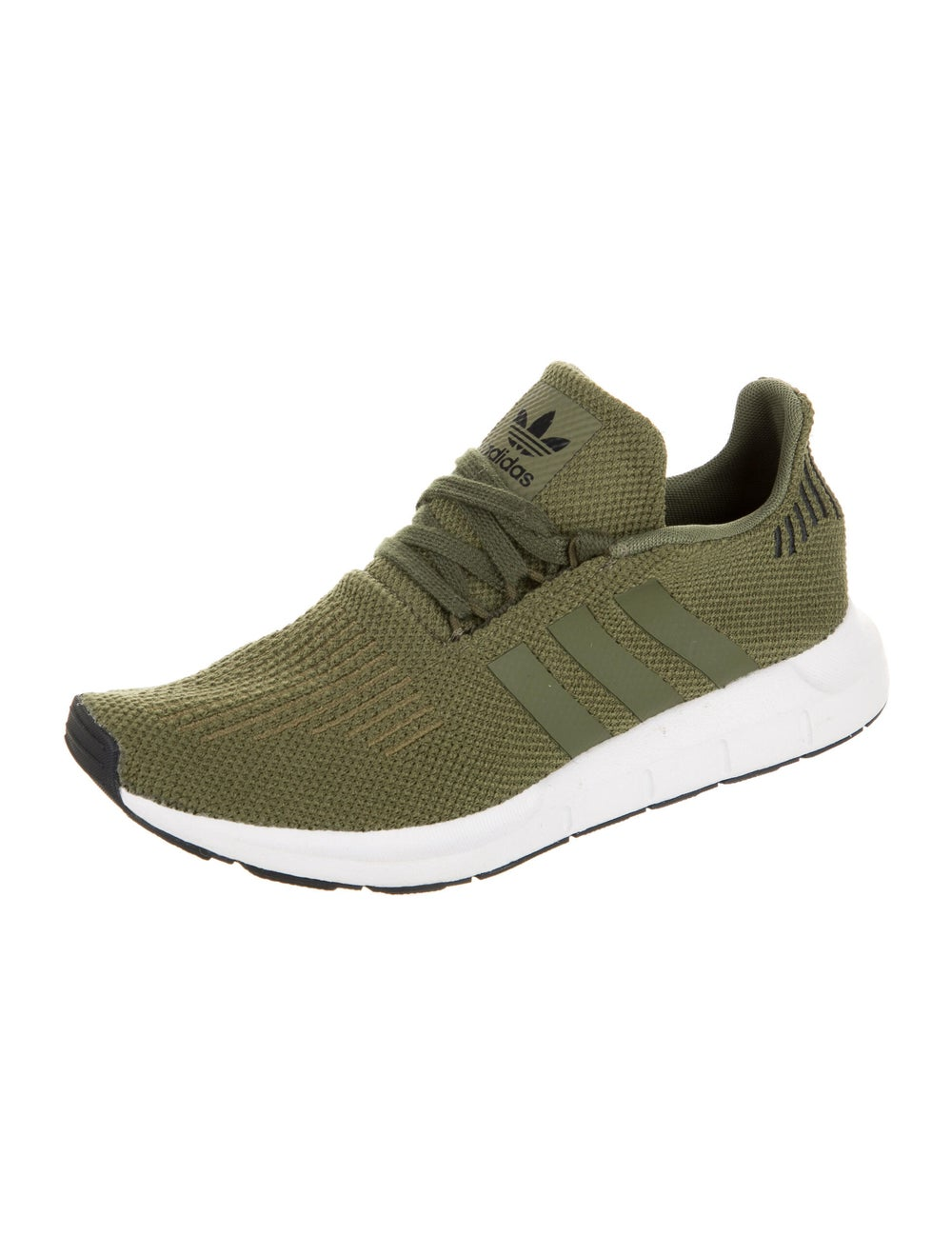 Adidas Athletic Sneakers Green - image 2