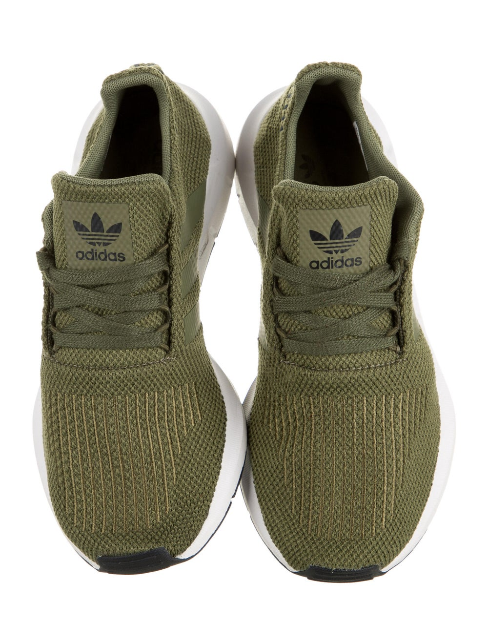 Adidas Athletic Sneakers Green - image 3