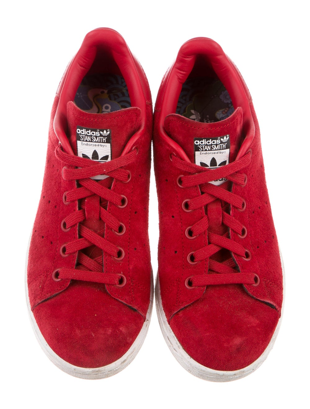 Adidas Suede Sneakers Red - image 3