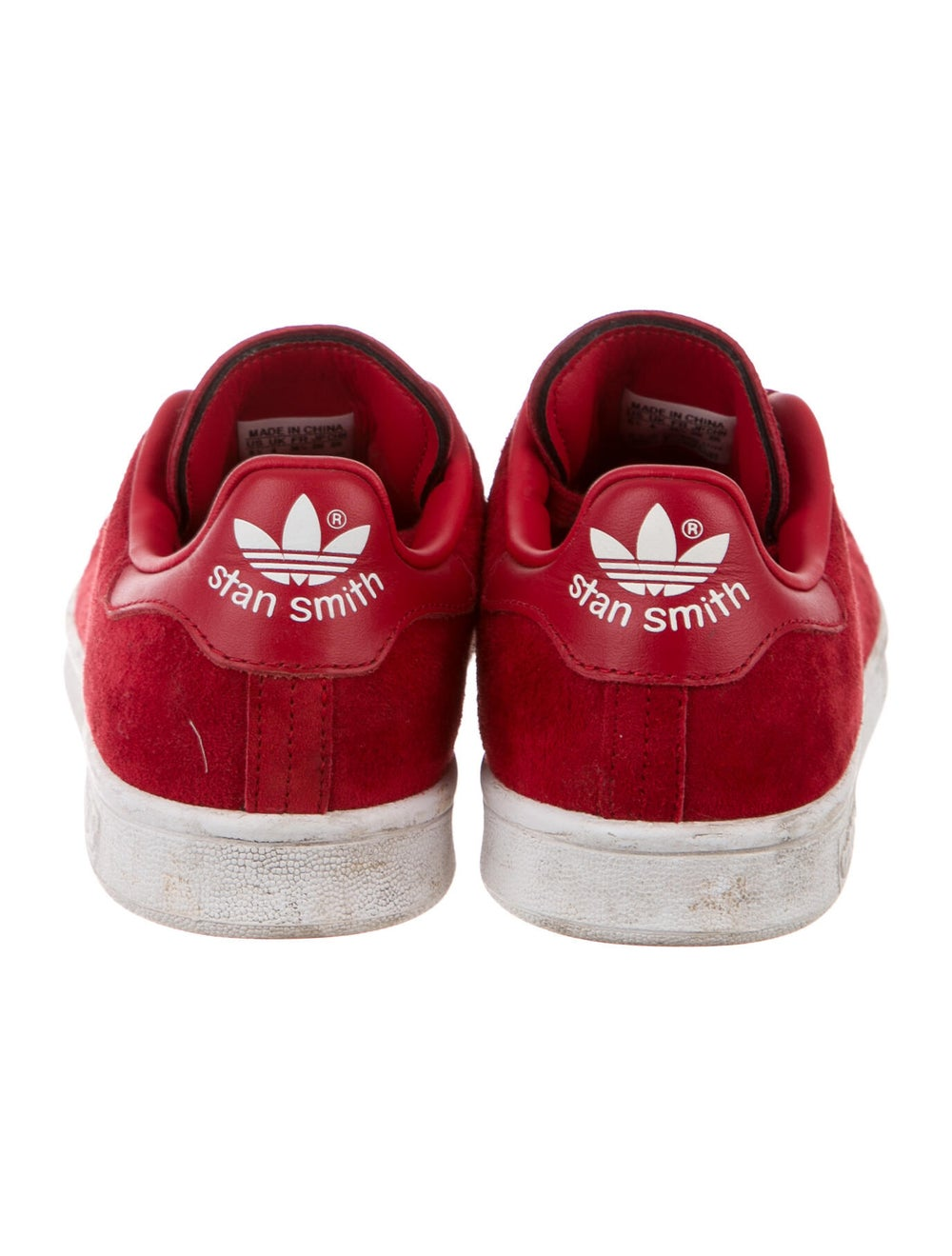 Adidas Suede Sneakers Red - image 4