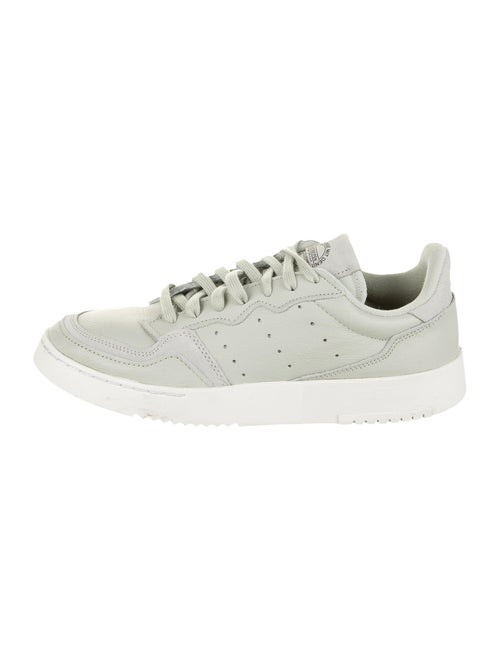 Adidas Leather Athletic Sneakers Green