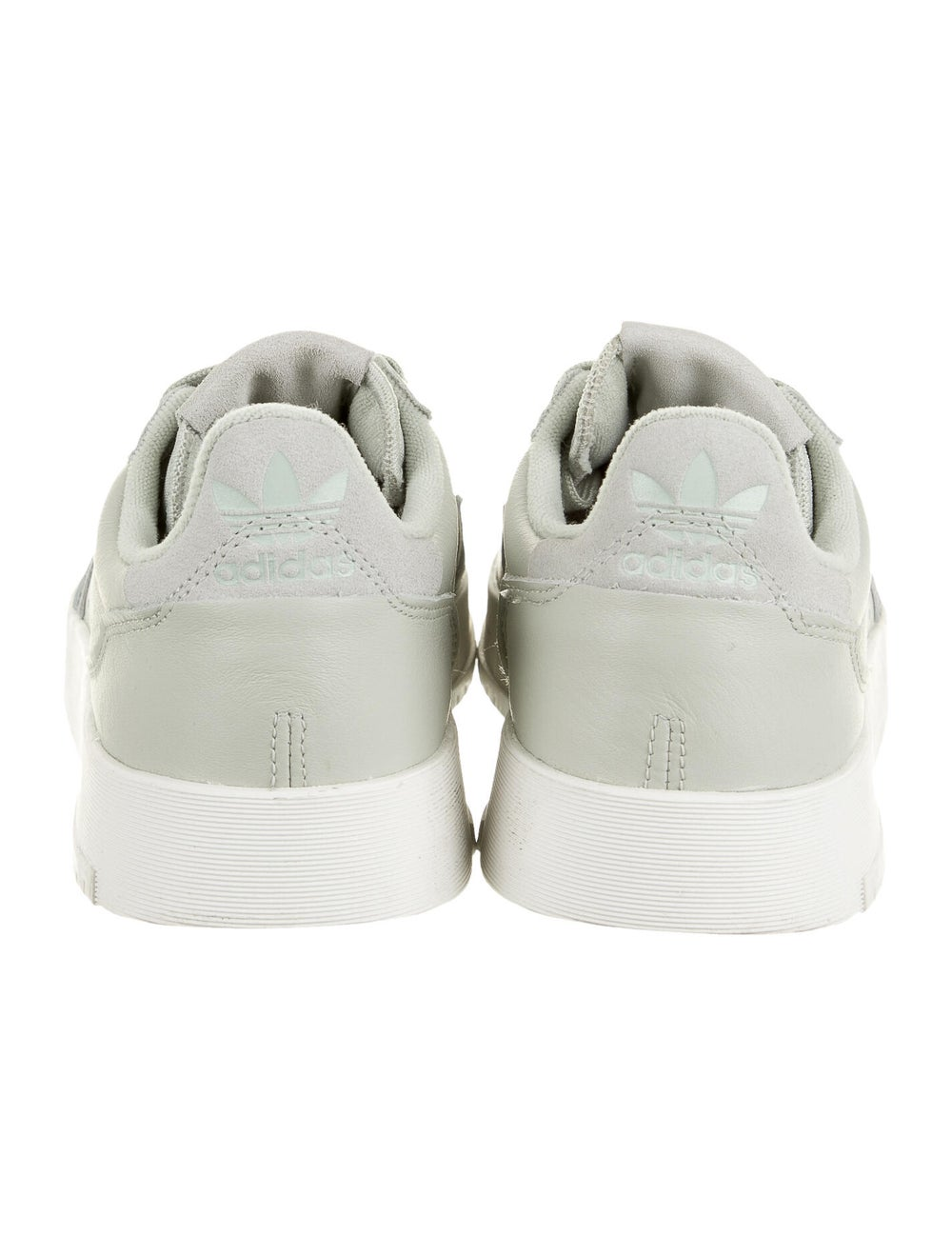 Adidas Leather Athletic Sneakers Green - image 4