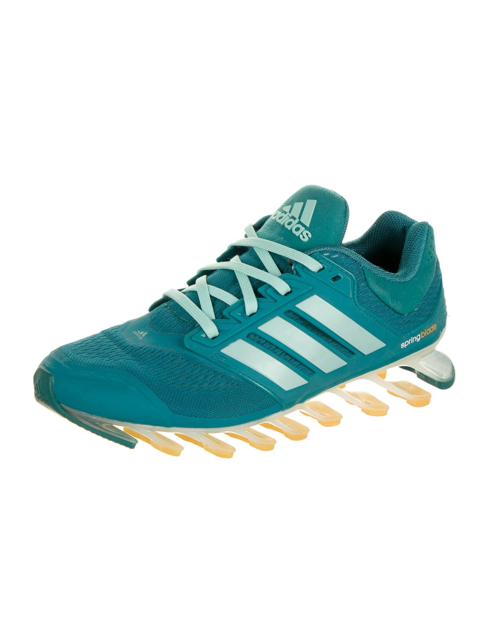 Adidas Springblade Drive Athletic Sneakers Green - image 2