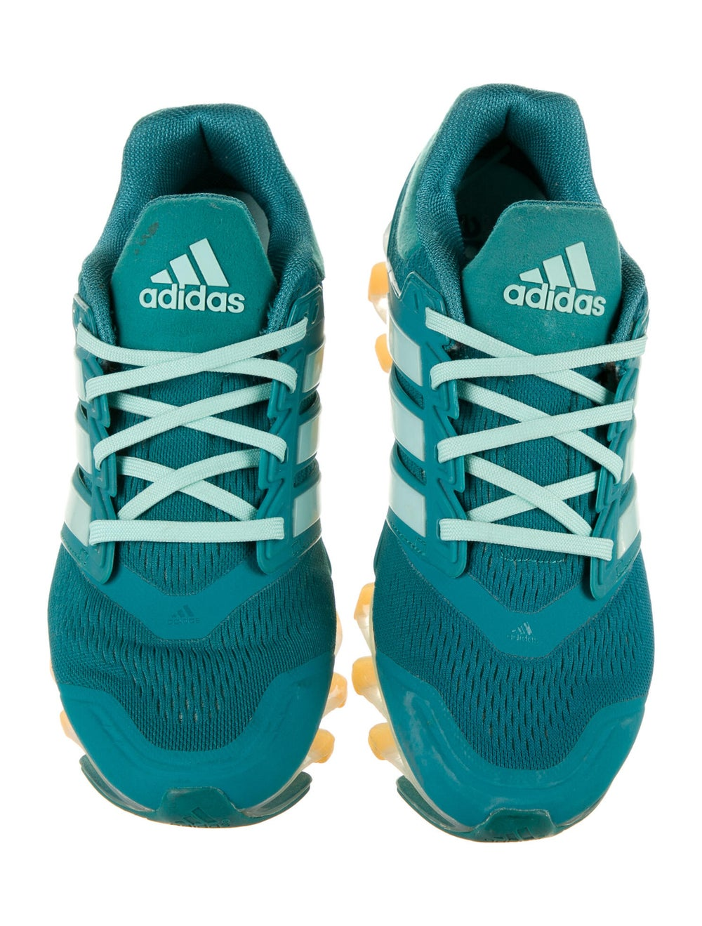 Adidas Springblade Drive Athletic Sneakers Green - image 3