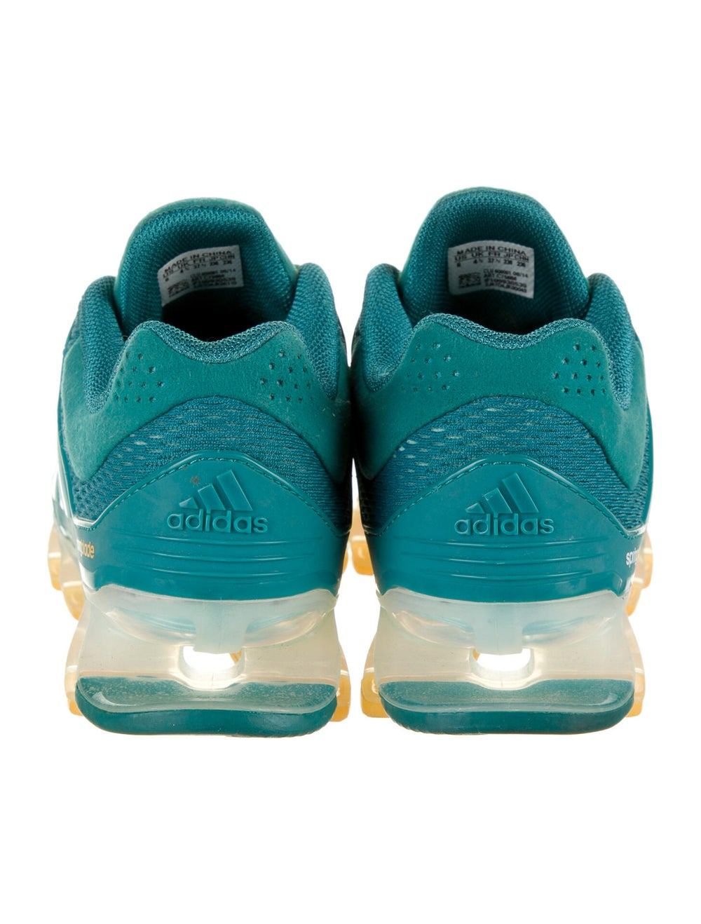 Adidas Springblade Drive Athletic Sneakers Green - image 4