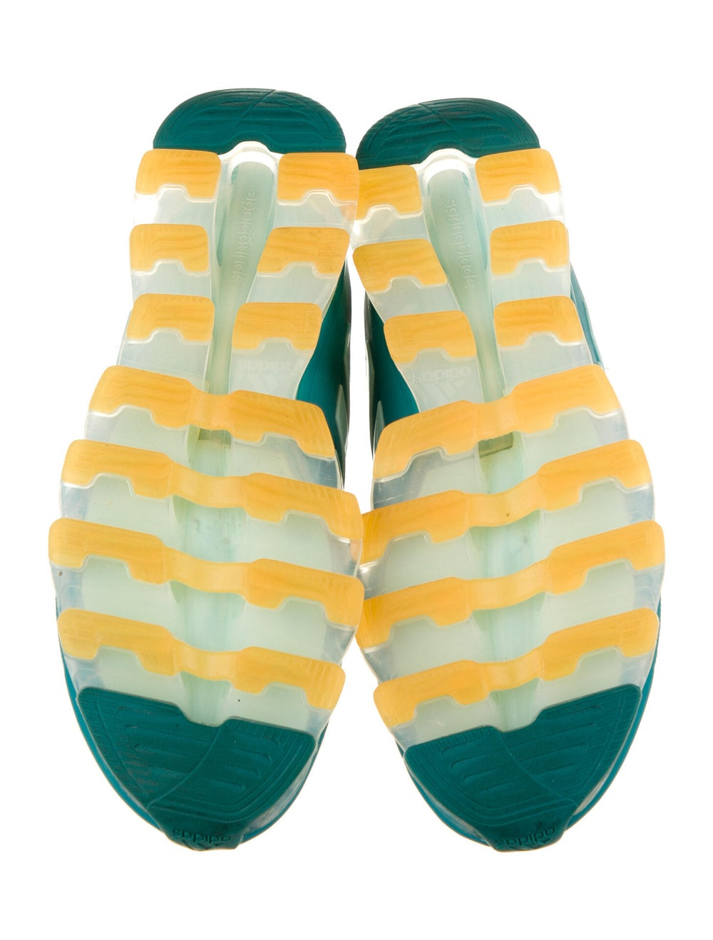 Adidas Springblade Drive Athletic Sneakers Green - image 5