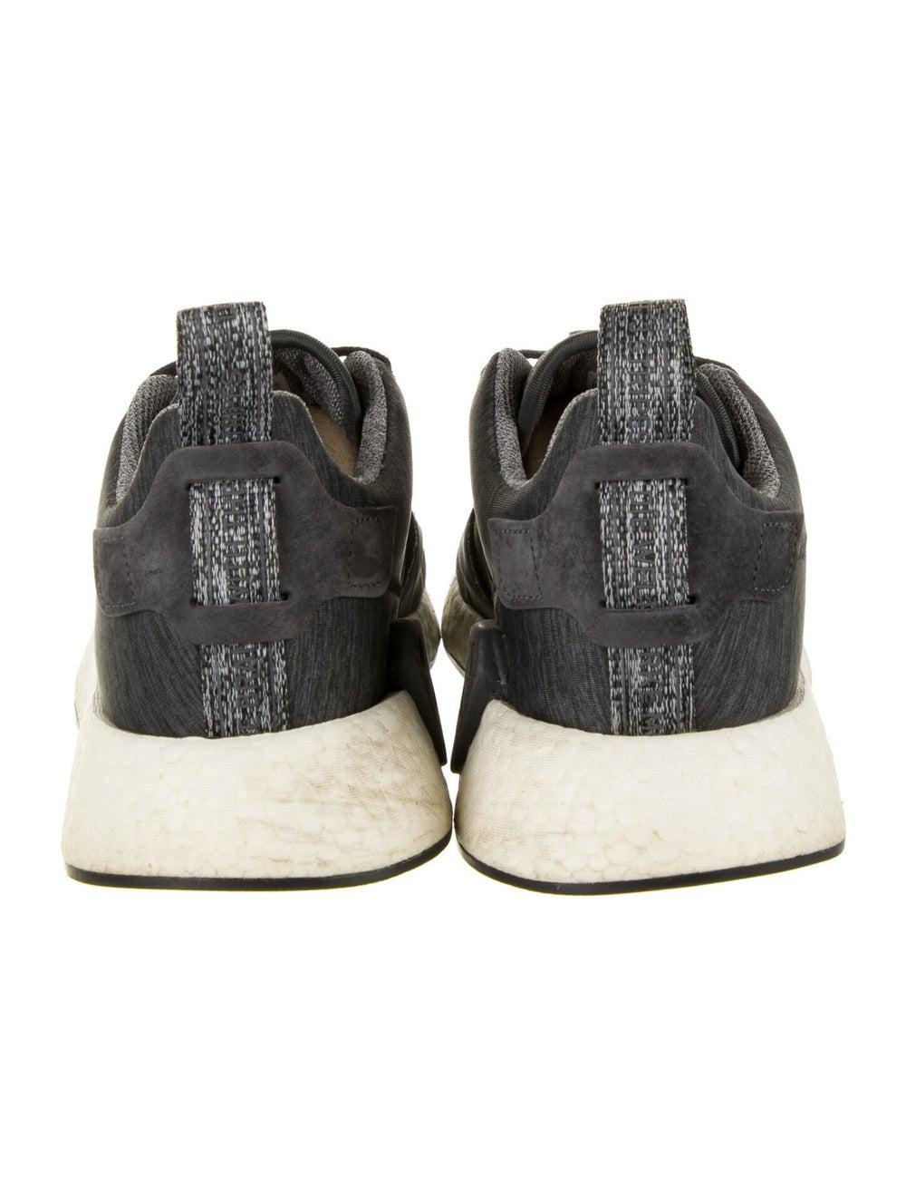 Adidas Athletic Sneakers Grey - image 4