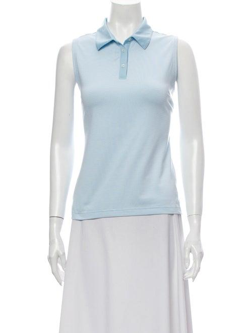 Adidas Sleeveless Polo Blue