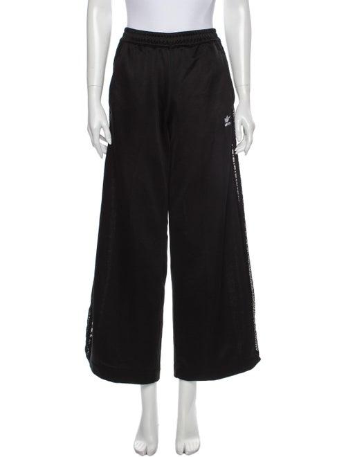 Adidas Wide Leg Pants Black