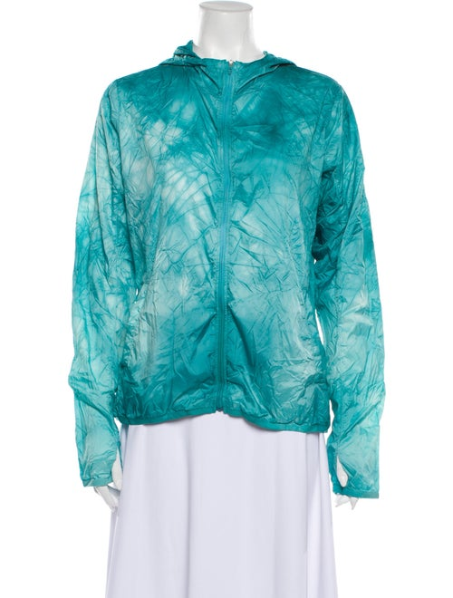 Adidas Tie-Dye Print Jacket Green