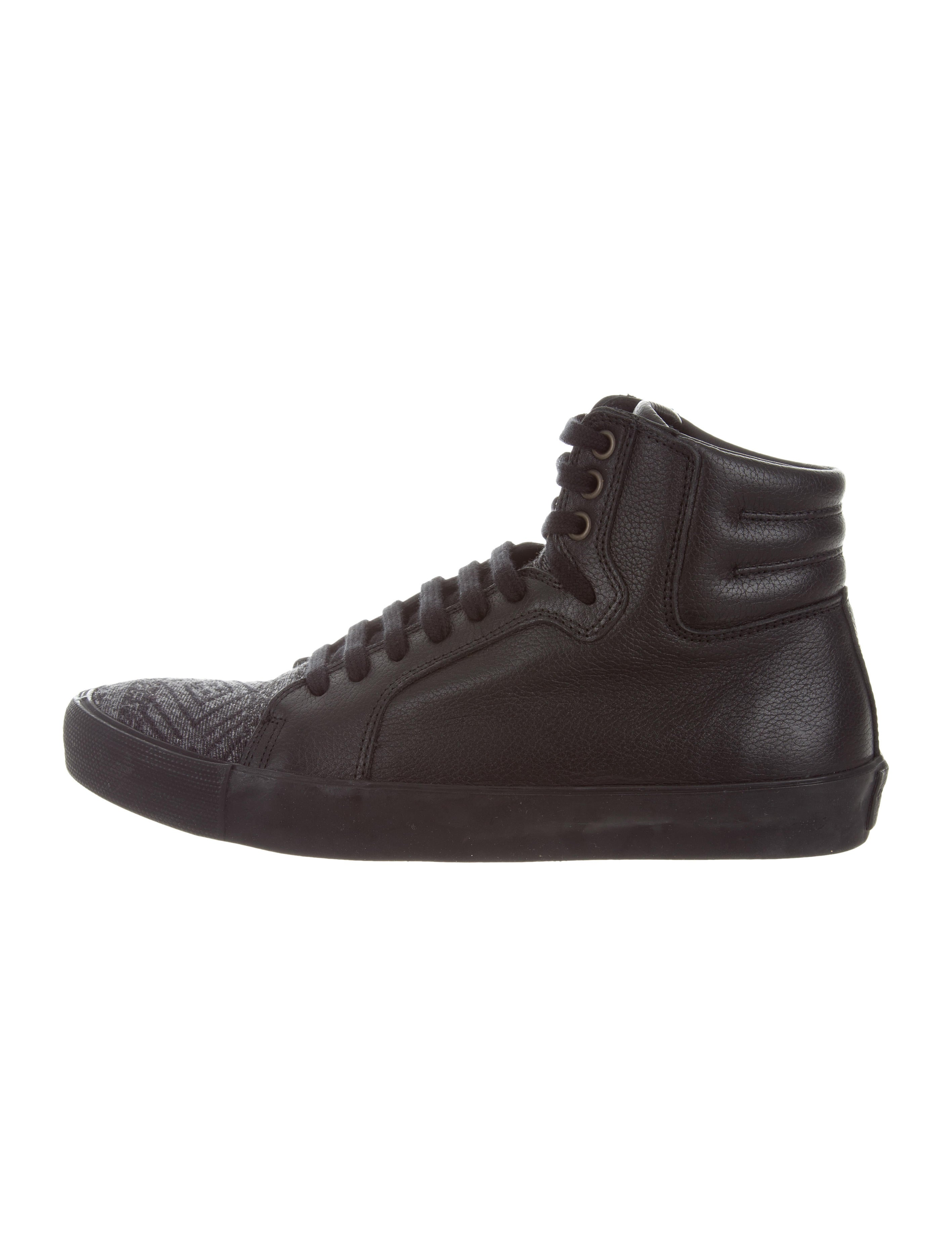 Cobra Society Leather High-Top Sneakers w/ Tags outlet footaction sale original vzOLEkMQ