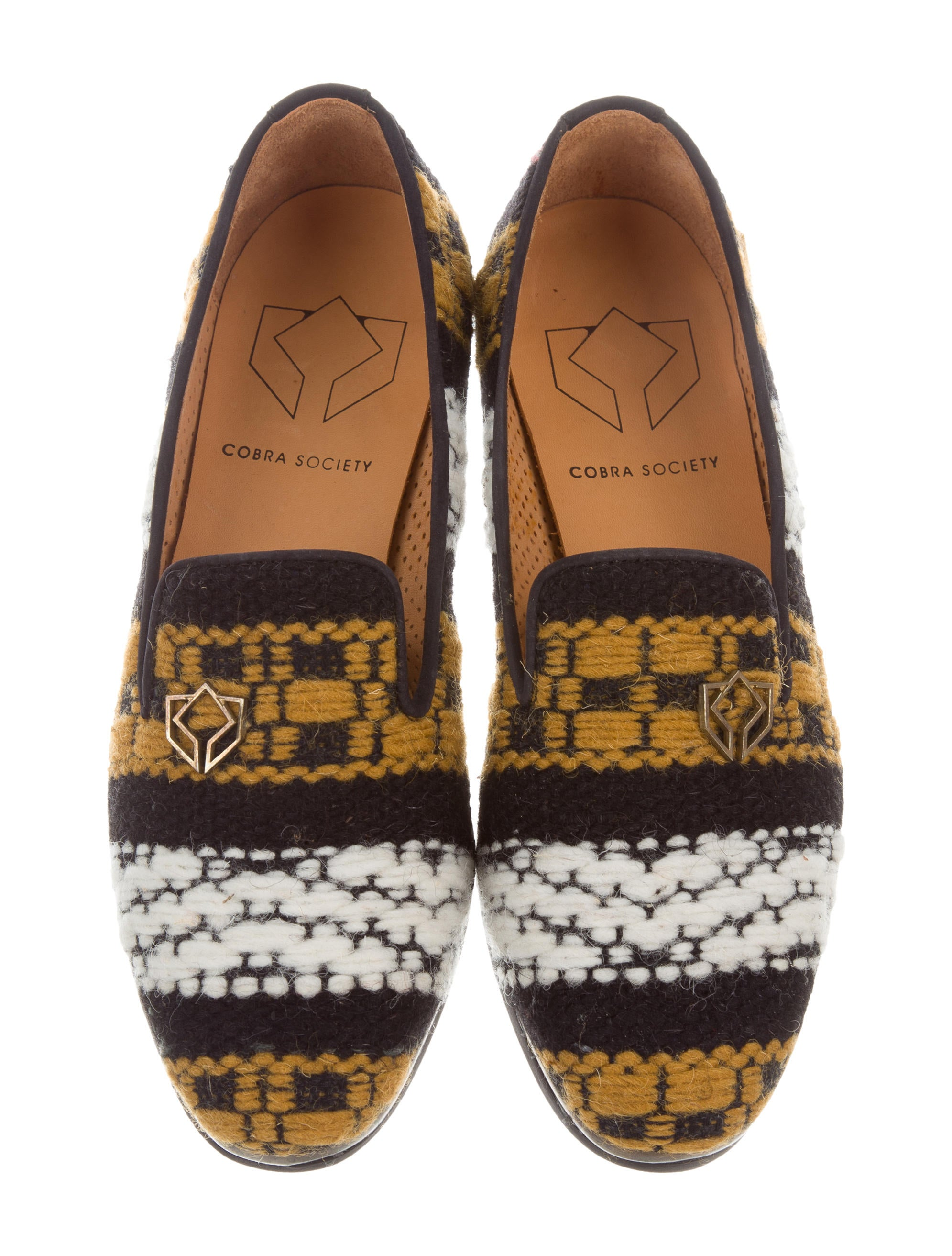 official online Cobra Society Najet Round-Toe Loafers w/ Tags clearance new DVEbqErOC