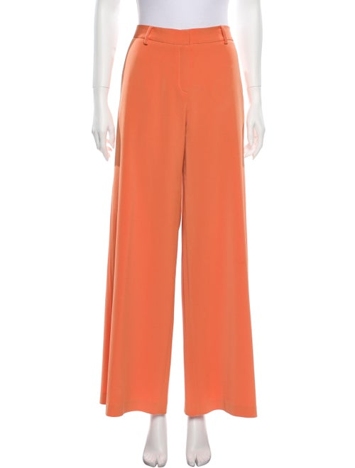 Nha Khanh Wide Leg Pants Orange