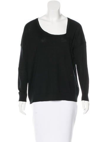Maje Silk Asymmetrical Sweater w/ Tags None