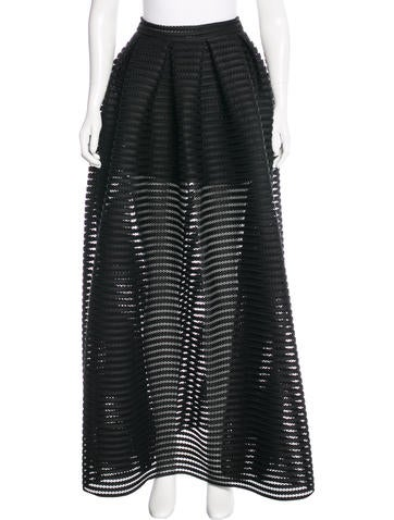 Maje Knit Maxi Skirt w/ Tags None