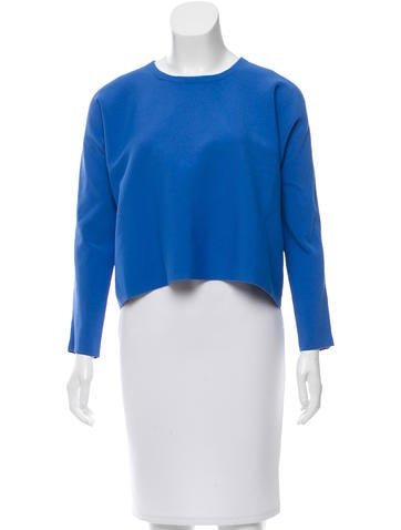Maje Long Sleeve Oversize Top None
