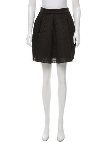 maje pleated mini skirt clothing w2m25263 the realreal