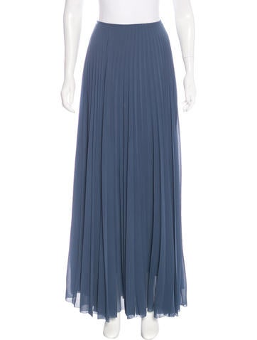 maje pleated maxi skirt clothing w2m25878 the realreal