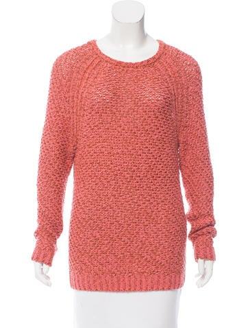 Maje Knit Crewneck Sweater None