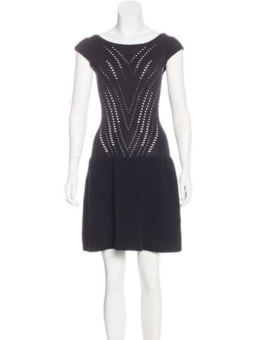 Maje Knit Mini Dress None